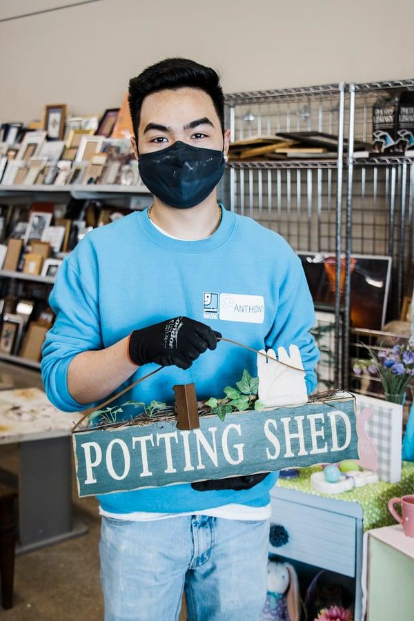 Gardening Shed Decor