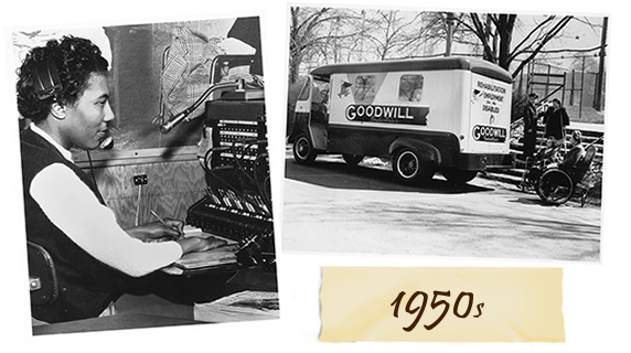 1950s - Mission and History of Goodwill Industries