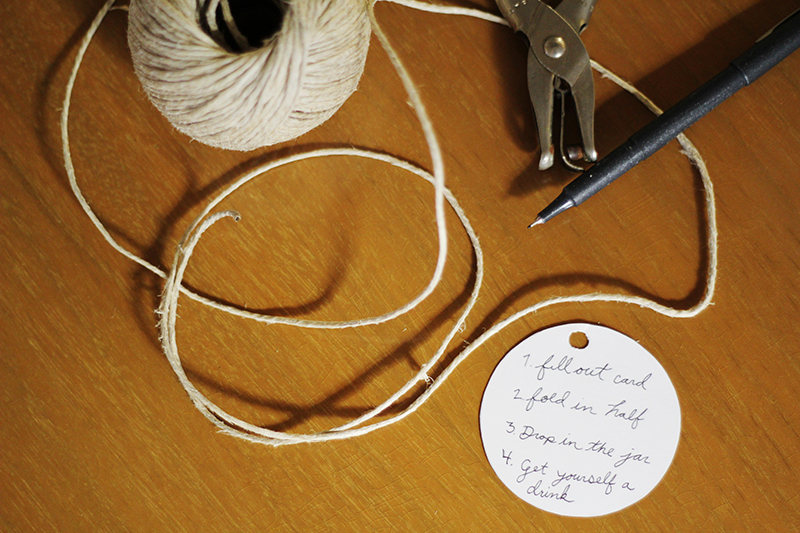 DIY Wedding Guest Book Alternative – Advice Jar