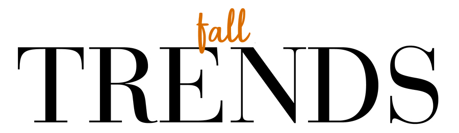 Fall Trends 2018