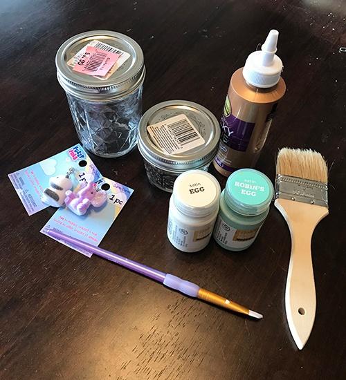 Materials - jar project