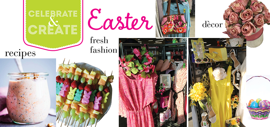 Easter is just a hop away and we know there will be baskets filled with candy and other deliciously sweet treats galore.
