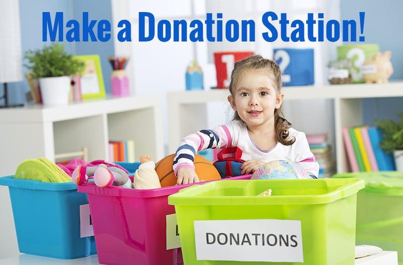 Make a Donation Station