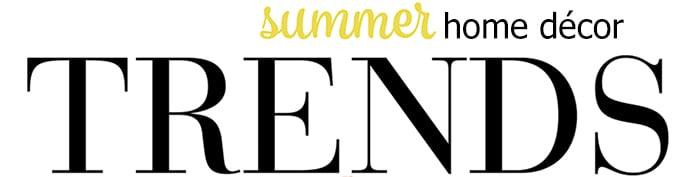 Goodwill Summer Home Decor Trends