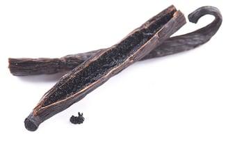 Sliced Vanilla Bean