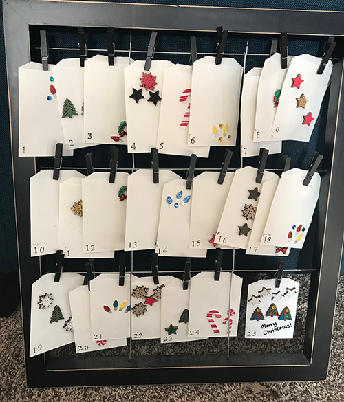 Countdown to Christmas - DIY Advent Calendar