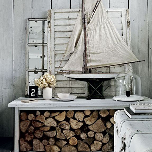 Sun bleached wood