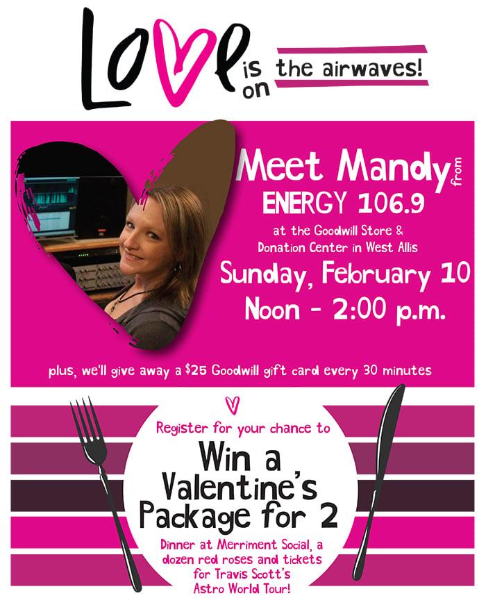 Meet Mandy Scott at Goodwill in West Allis!