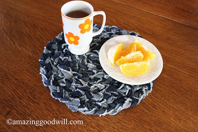 DIY Denim Placemat