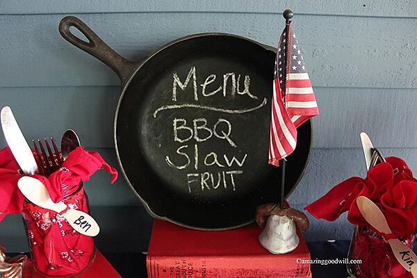 Red, White and Blue BBQ!