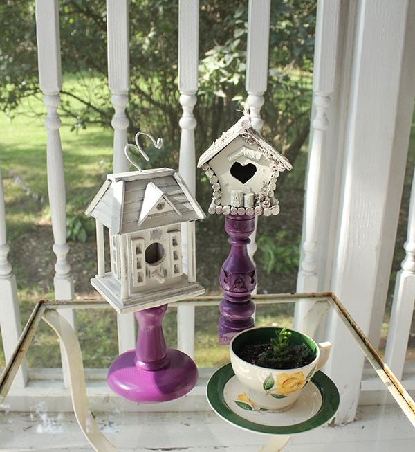 The Early Bird ~ DIY Birdhouse Décor