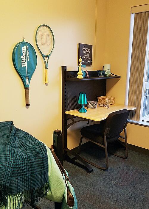 UWM Dorm Room Tennis Art