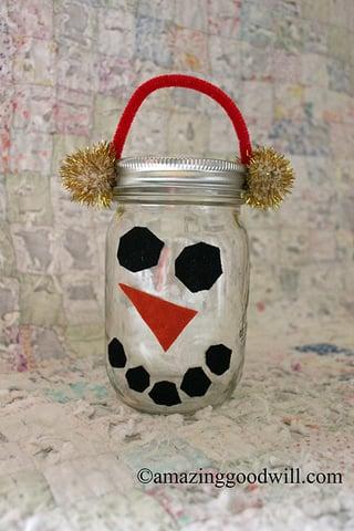 Christmas Mason Jars Diy Gift Idea