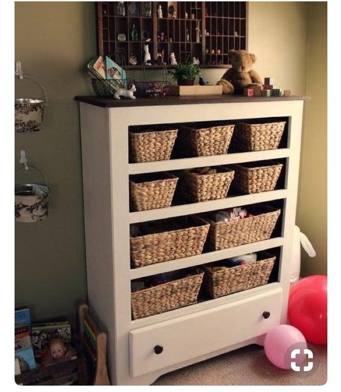 Thrift craft dresser