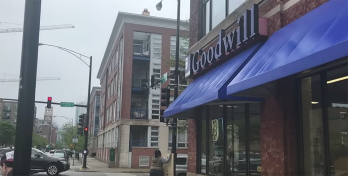 Goodwill Store and Donation Center on Washington Boulevard in Chicago