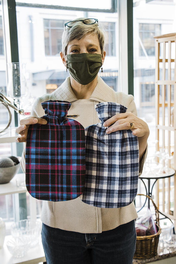 Flannel Hot Water Bottle Covers