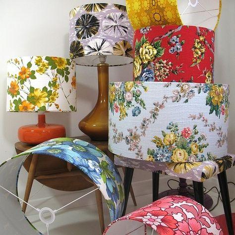 Fabric lampshades