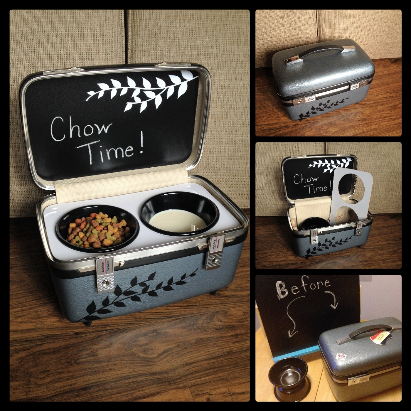 Goodwill Ultimate Upcycling Contest Winner - Jody M. Portable Feeding Station