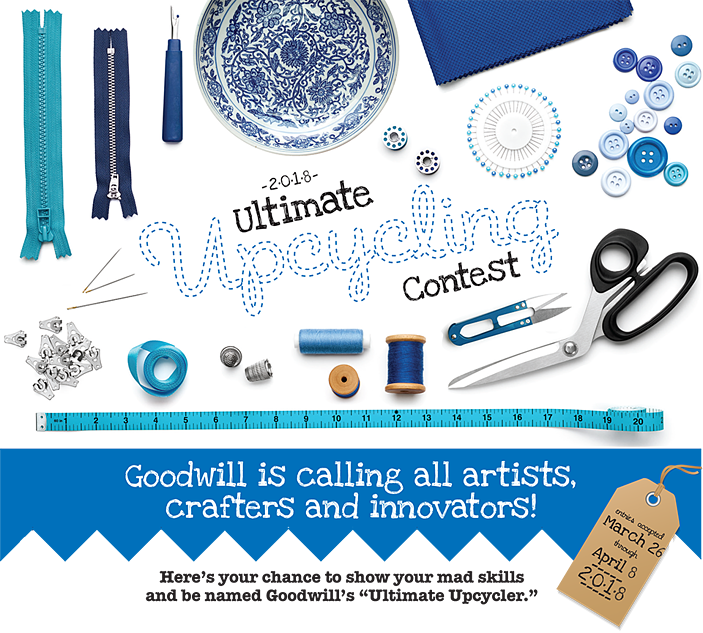 Goodwill's Ultimate Upcycling Contest