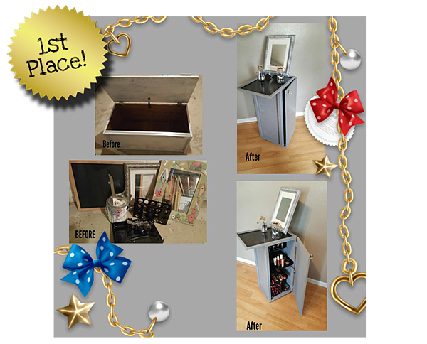 Goodwill Utlimate Upcycling Contest Winner - Crystal L.