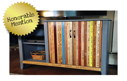 Ultimate Upcycling Contest Honorable Mention - Kelly S.
