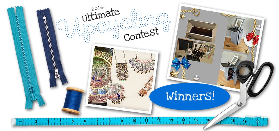 Ultimate Upcycling Contest 2018 Winners
