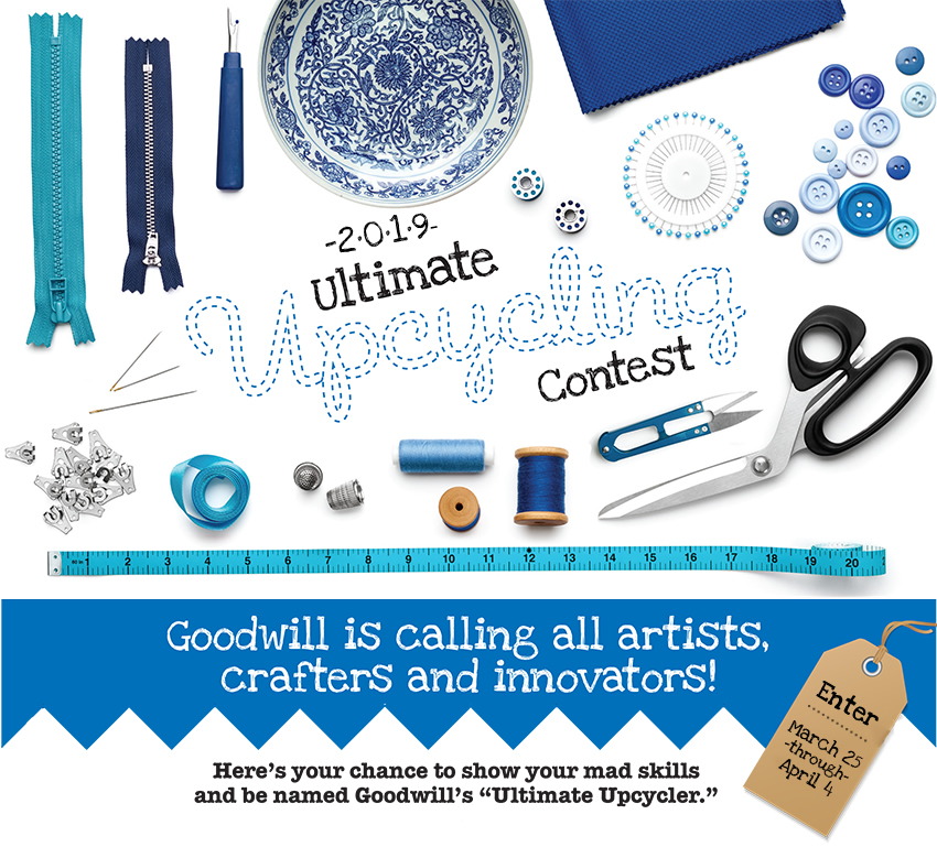Goodwill Ultimate Upcycling Contest - 2019