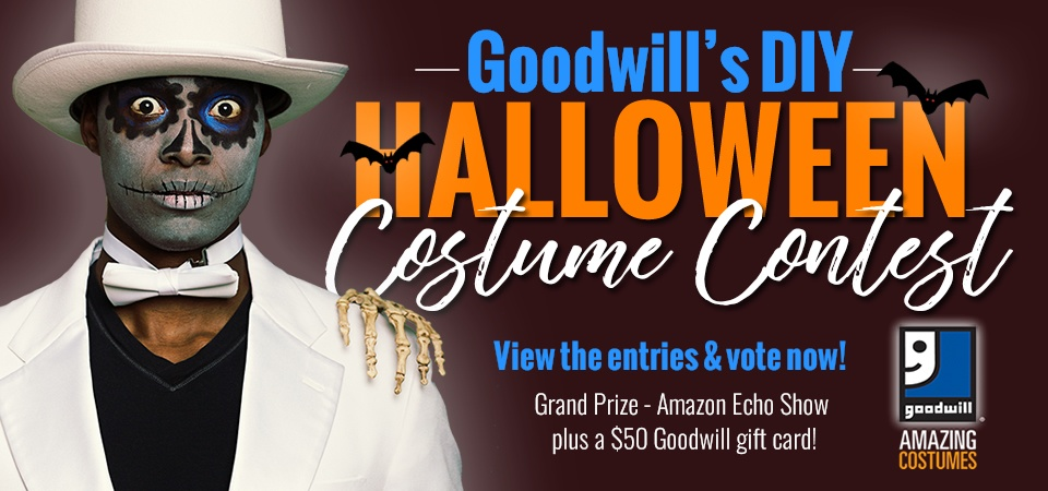 Cast Your Vote in Goodwill's Halloween Costume Contest!