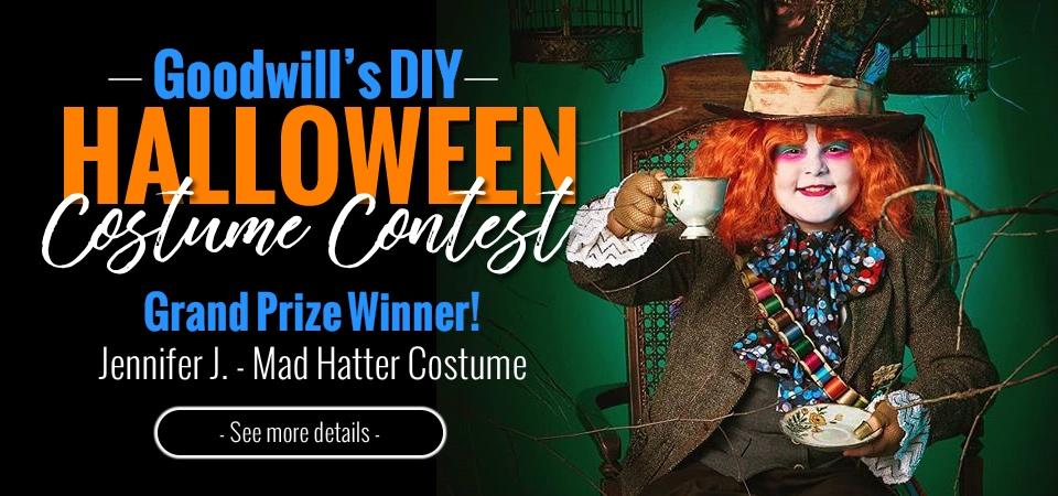 Goodwill's DIY Halloween Costume Contest Winners Announced
