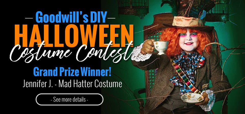 Goodwill's DIY Halloween Costume Contest Winners Announced