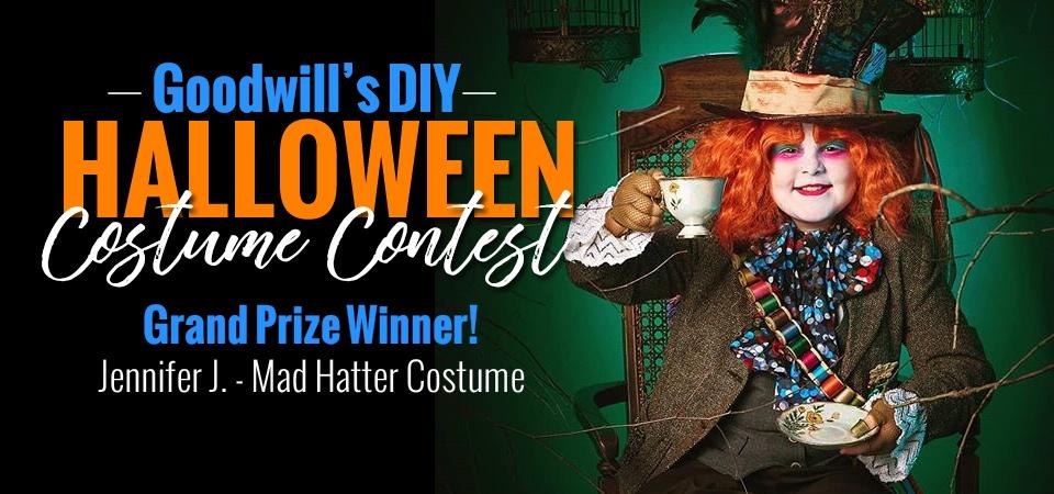 Goodwill's DIY Halloween Costume Contest Winner