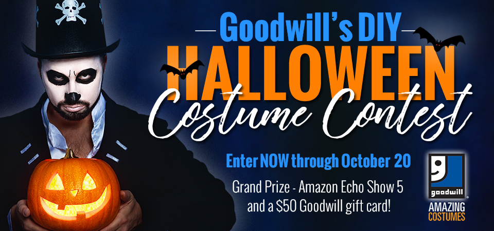 Goodwill's DIY Halloween Costume Contest is Going On Now!