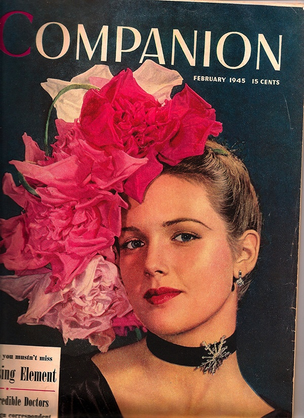 1945 copy of Woman's Home Companion magazine