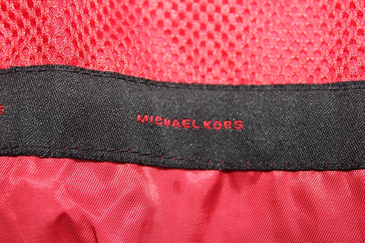 Michael Kors red patent leather coat - $39.99 at Goodwill