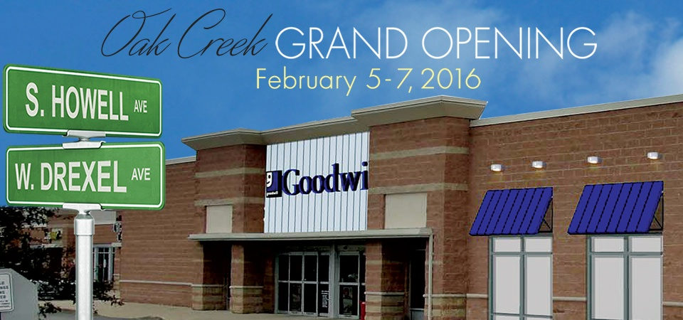 Goodwill Grand Opening in Oak Creek