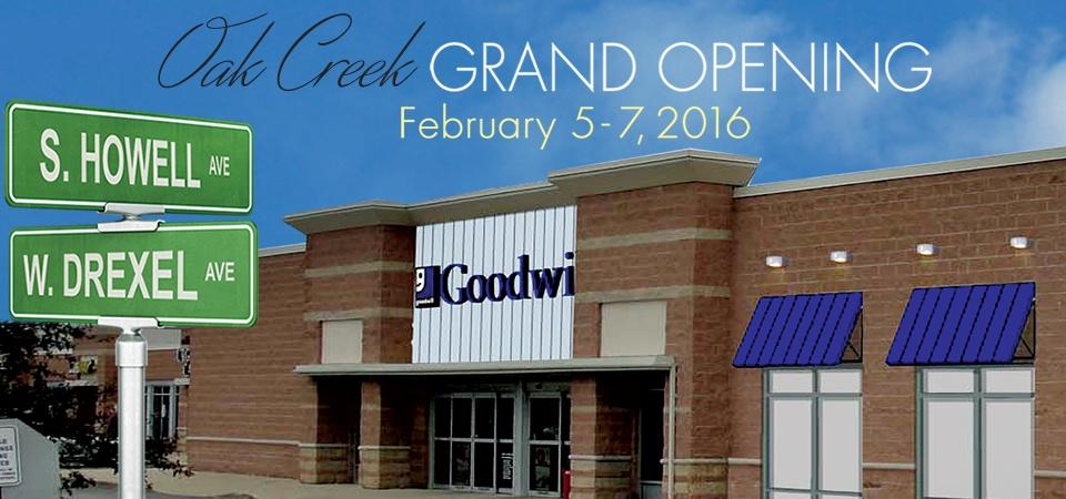 Goodwill Grand Opening in Oak Creek