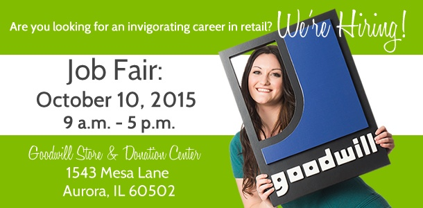 Goodwill Job Fair in Aurora