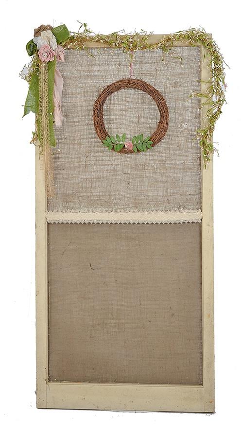 Boho Elegant Themed Wedding Using Upcycled Items from Goodwill!