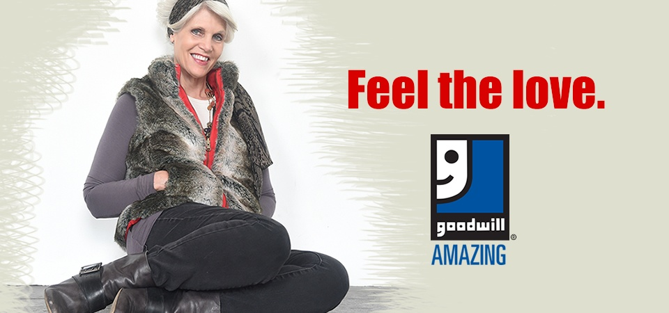 Feel the love with Goodwill