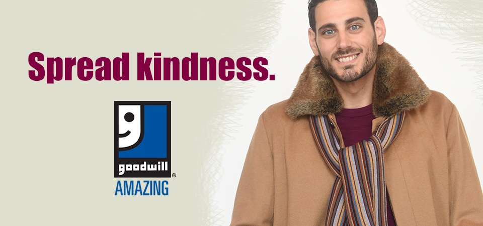 Spread kindness with Goodwill