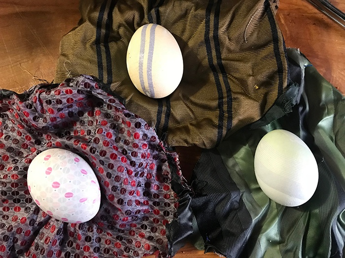 Easter Fun – Silk Tie Egg Dyeing