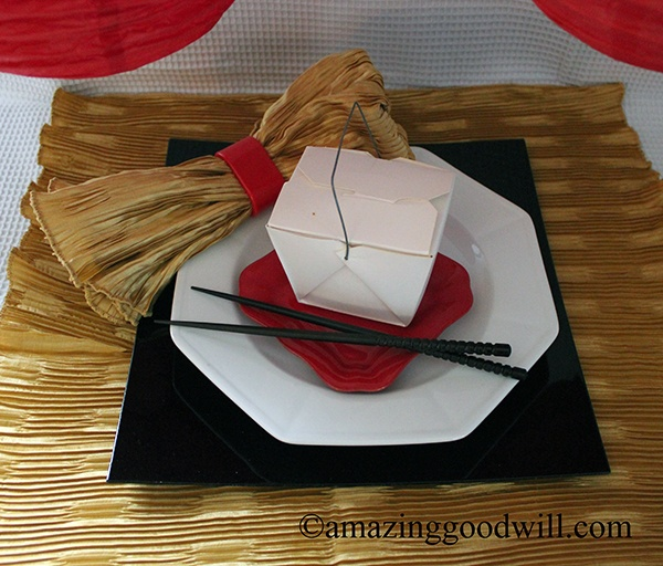 Chinese New Year Place Setting