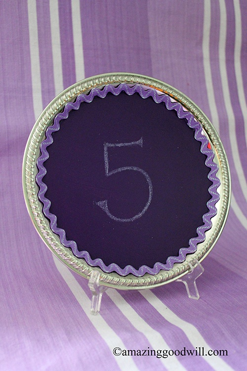 Creative DIY Wedding Reception Table Numbers
