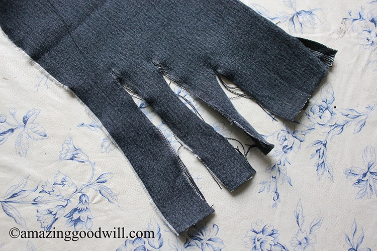 Denim Braids - DIY Placemat