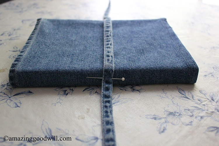 Denim Book Cover Diy : Diy denim book covers