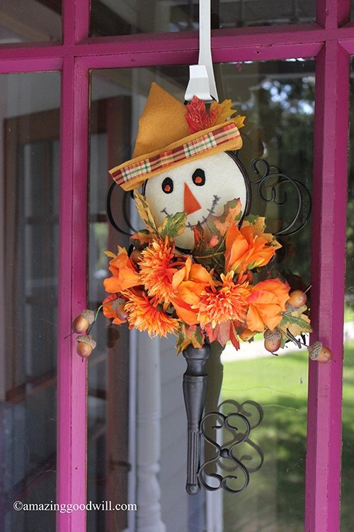 Scarecrow Door Decor