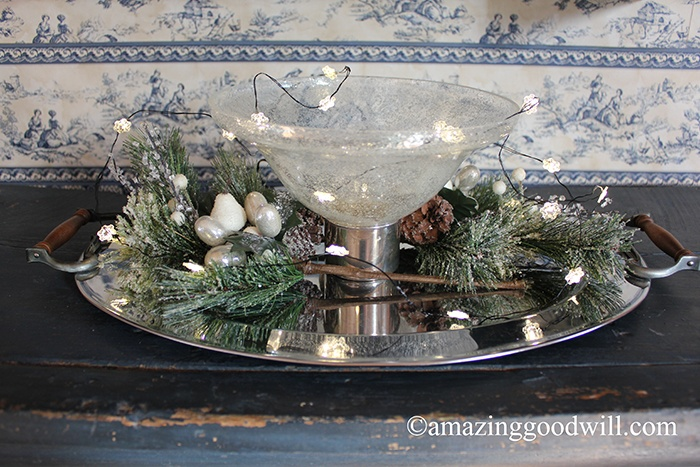 New Year's Eve Centerpiece Glam!