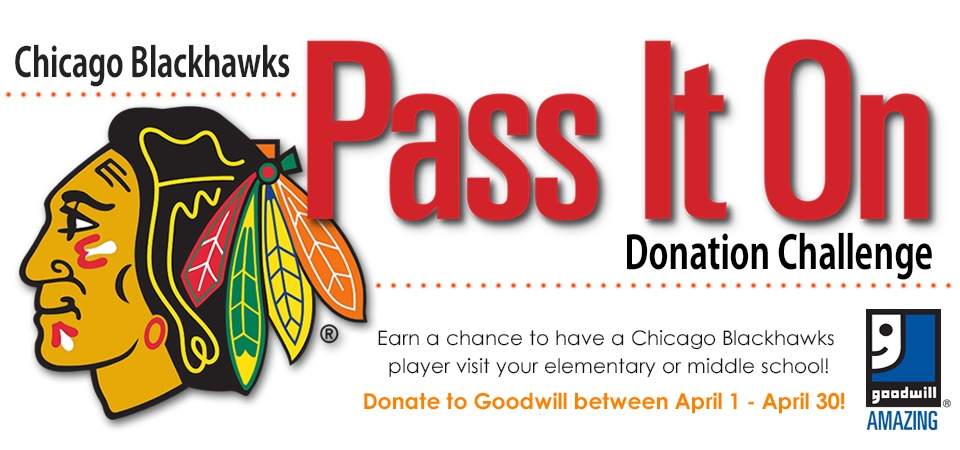 Goodwill's Pass It On Donation Drive