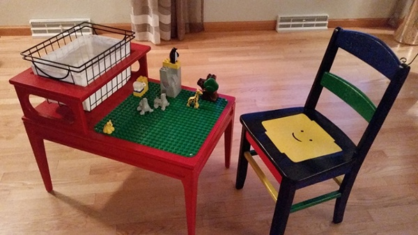 Amy T - Lego Table