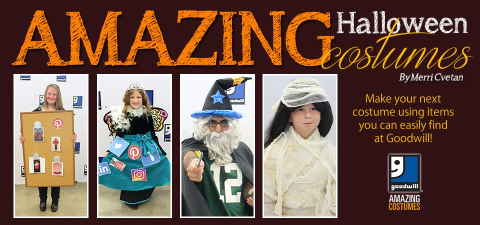 Amazing Halloween Costumes from Goodwill